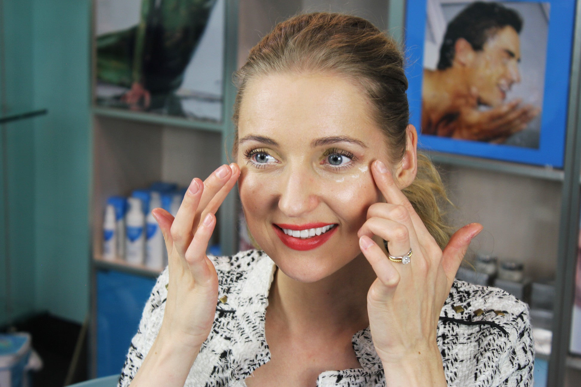 How to Apply Eye Cream | Skin Care Routine