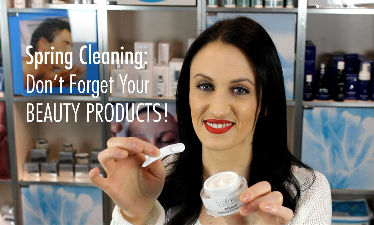 Spring Clean Tips: Beauty Products