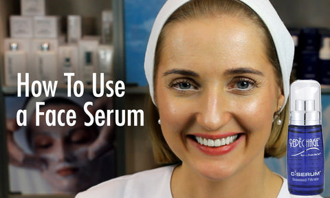 How to Use Face Serum As Part Of Your Skin Care Routine