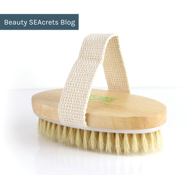 Why Dry Body Brushing Is The Perfect Way To Get Summer Ready
