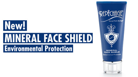 Introducing NEW! Repechage Mineral Face Shield – Environmental Protection