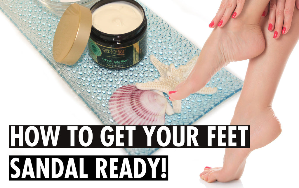 How To Get Your Feet Sandal Ready For Summer