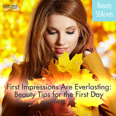 First Impressions Are Everlasting: Beauty Tips for the First Day