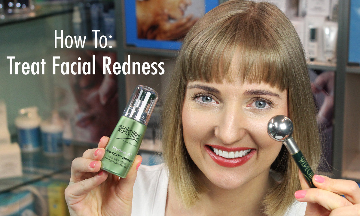 How to Get Rid of Redness on Face - Skin Care Routine for Sensitive Skin
