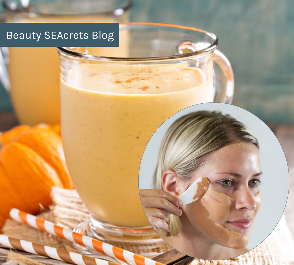 How to Spice Up Your Fall Skin Care Routine: Pumpkin Skin Care and Healthy Pumpkin Smoothie Recipe