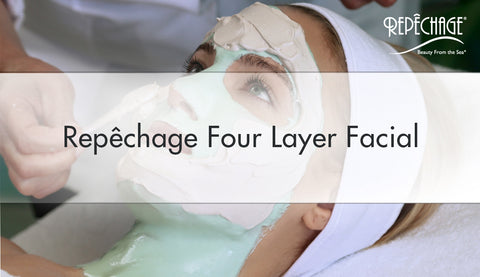 Repêchage Four Layer Facial (Time Lapse)
