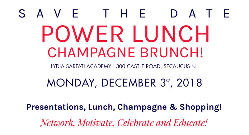 Champagne Power Lunch 2018