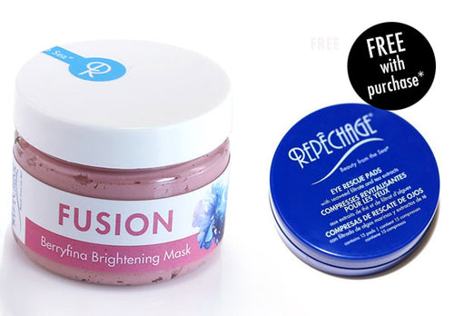 FUSION™ Berryfina Brightening Mask with FREE Eye Rescue Pad (Travel Size)*