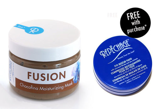 FUSION™ Chocofina Moisturizing Mask with FREE Eye Rescue Pad (Travel Size)*
