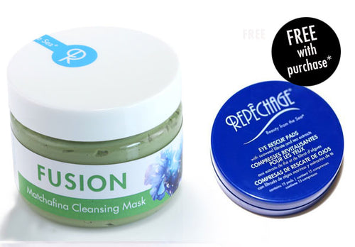 FUSION™ Matchafina Cleansing Mask with FREE Eye Rescue Pad (Travel Size)*