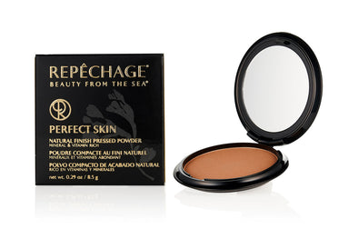 Perfect Skin Natural Finish Pressed Powder - Sheer Dark