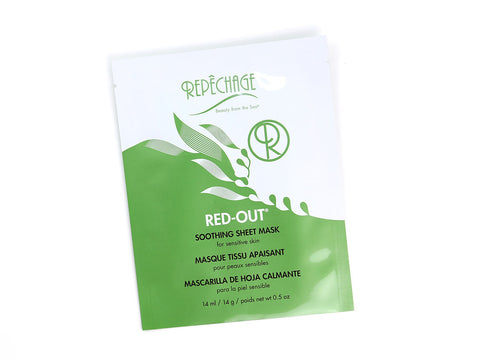 Repêchage® Red-Out® Soothing Sheet Mask - Single Sheet Mask