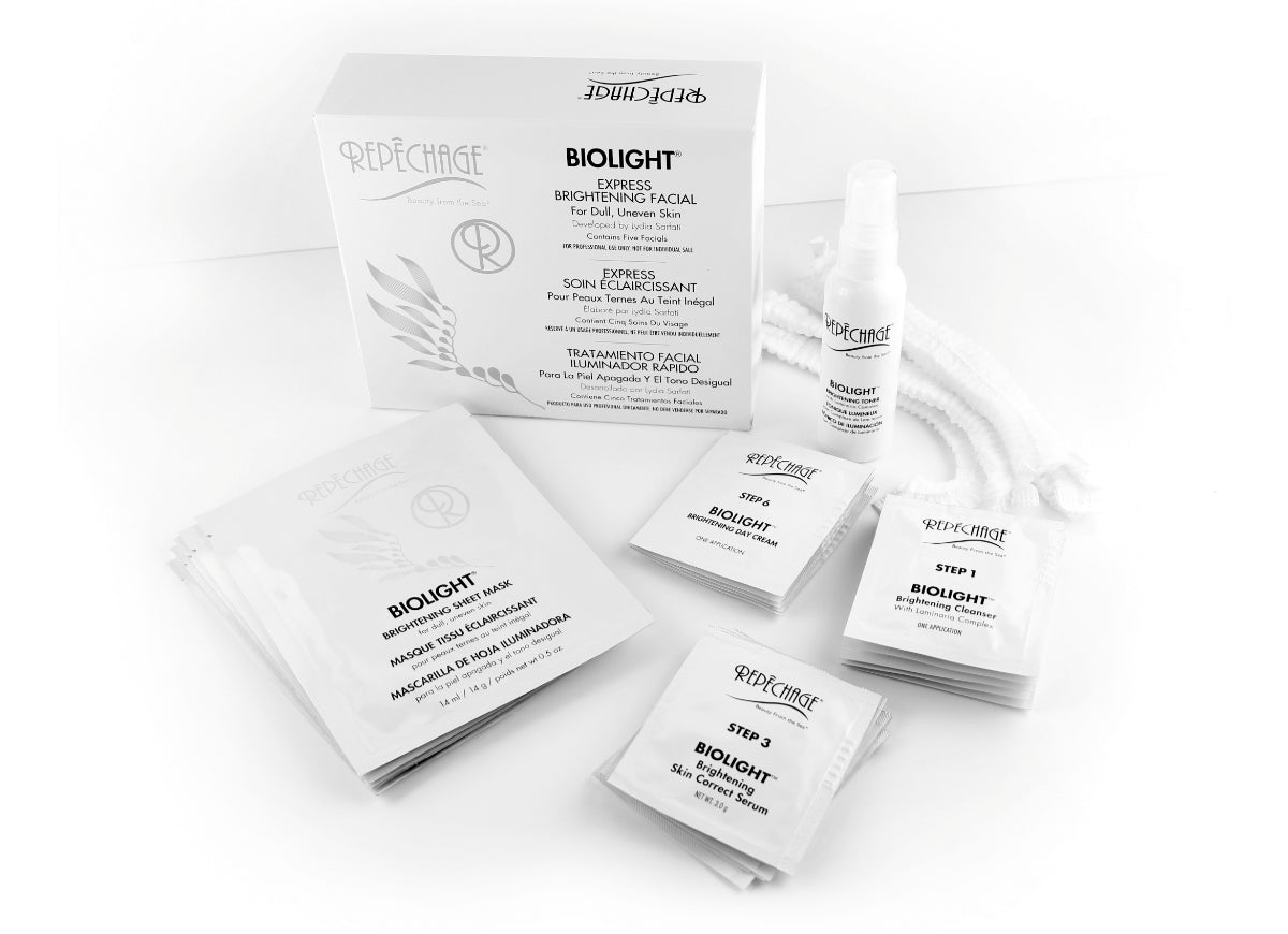 BIOLIGHT® Express Brightening Facial | 5 Pro Uni-dose Treatments
