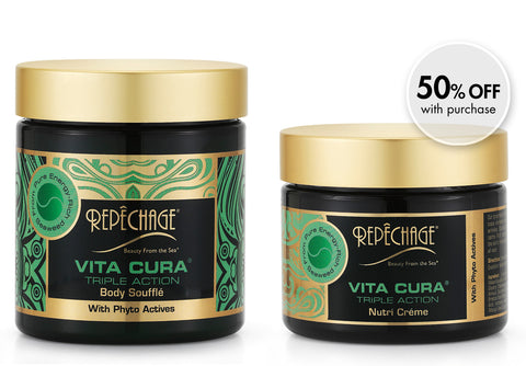 50% OFF Vita Cura® Triple Action Nutrí Créme with Body Soufflé