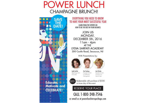 Champagne Power Lunch 2016