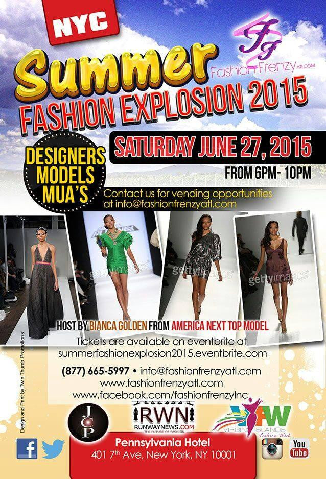 Summer Fashion Explosion NYC