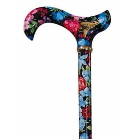 ADJUSTABLE CANE - GARDEN PARTY-Night Blooms