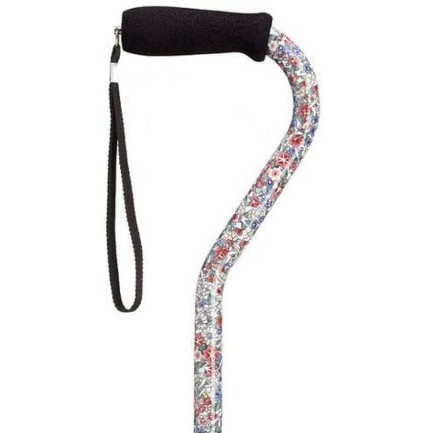 ADJUSTABLE OFFSET CANE WILDFLOWERS - CANES