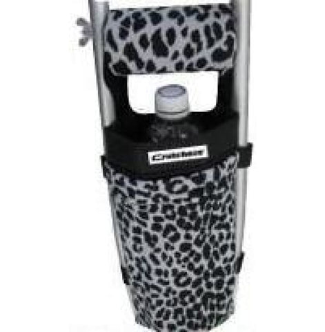 CRUTCHEZE CRUTCH BAG - BLACK LEOPARD