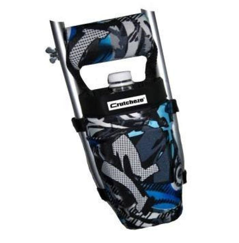 CRUTCHEZE CRUTCH BAG - BLUE GRAFFITI TATTOO