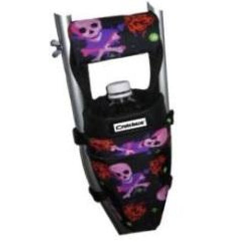 CRUTCHEZE CRUTCH BAG - HEARTS AND SKULLS