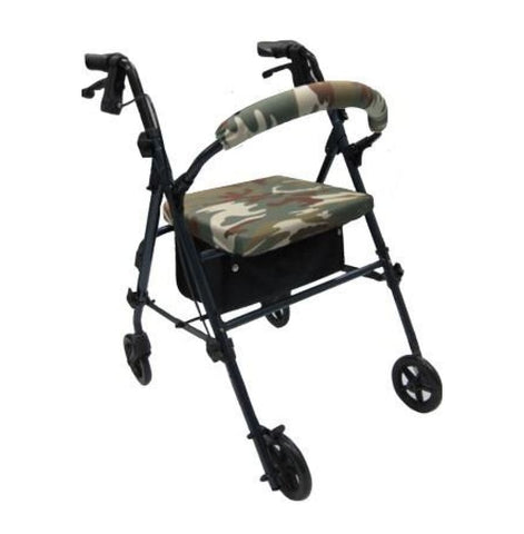 CRUTCHEZE ROLLATOR WALKER COVERS - CAMO