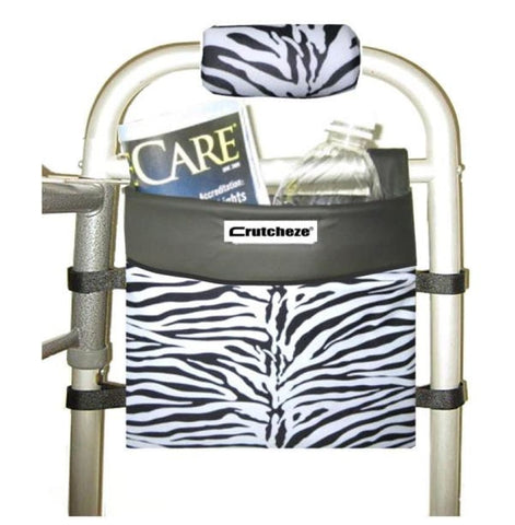 CRUTCHEZE WALKER, ROLLATOR, WHEELCHAIR SIDE BAG