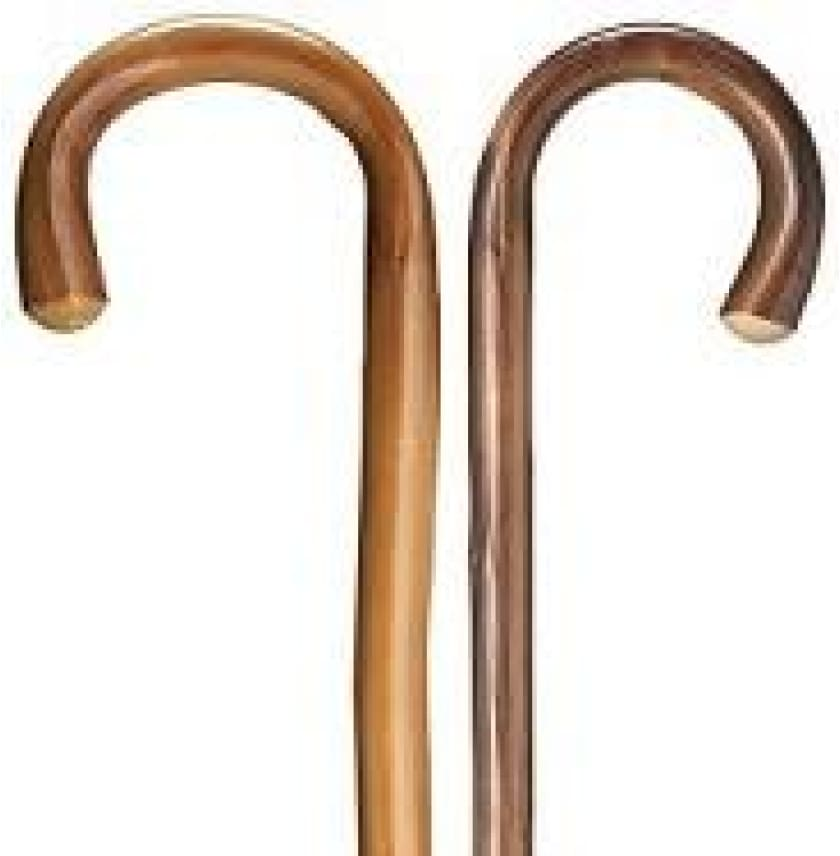 HOOK/CROOK CANE - NATURAL CHESTNUT - Make your choice here - CANES