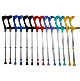 KOWSKY FOREARM CRUTCHES OPEN CUFF Soft Ergonomic Grip Part Color - Choose your color here - CRUTCHES-Forearm