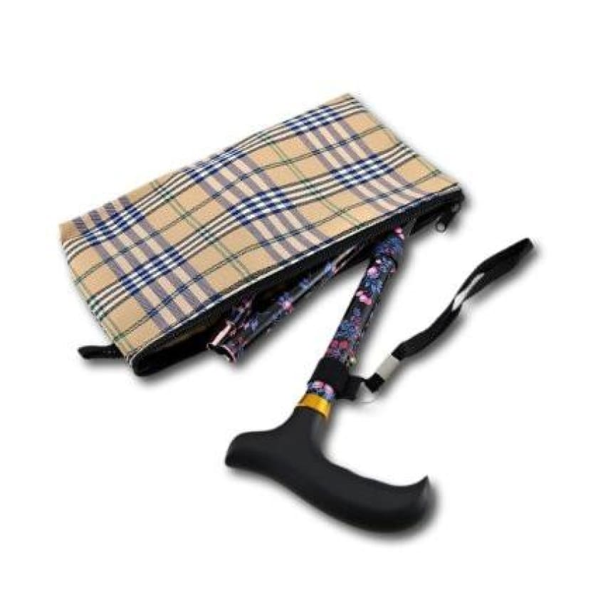 Mini Slimline Folding Canes with Pouch - Choose Your Color Here - CANES