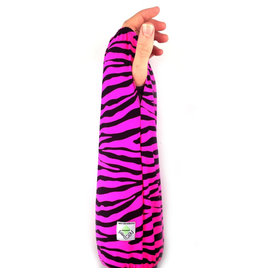 My Recovers ARM CAST COVER PINK ZEBRA - Medium (see chart) - ARM CAST COVERS