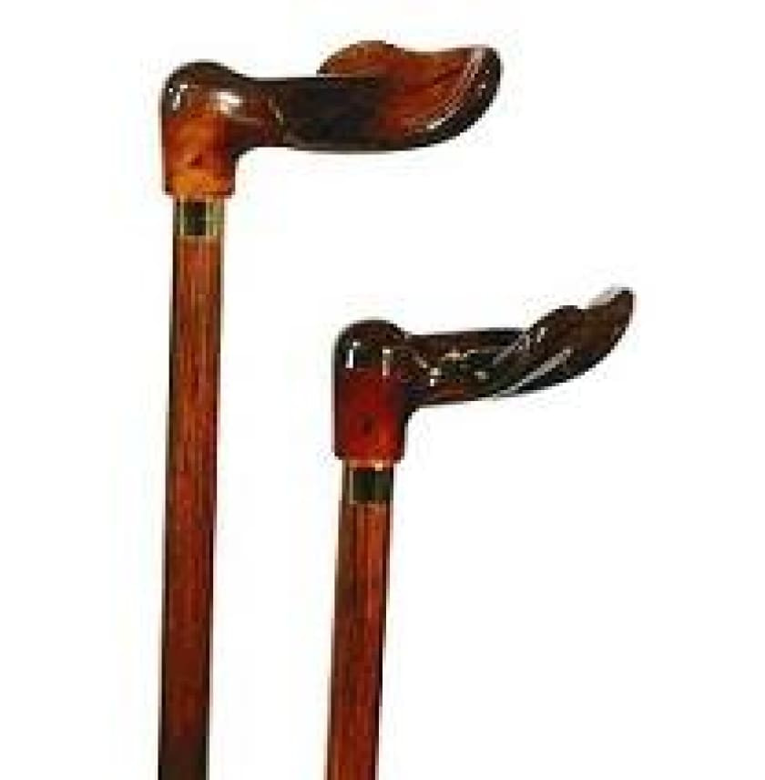 ORTHOPEDIC CANE - PALM GRIP AMBER HANDLE - Make your choice here - CANES
