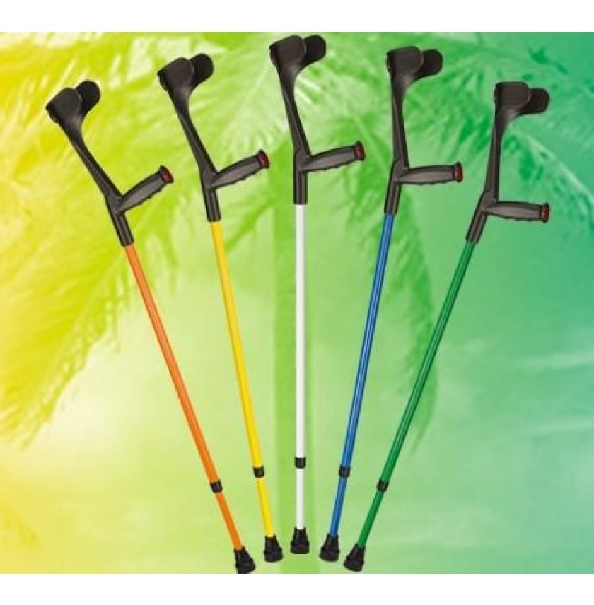 OSSENBERG FOREARM CRUTCHES OPEN CUFF -SPECIAL COLORS - Choose Your Color Here - CRUTCHES-Forearm