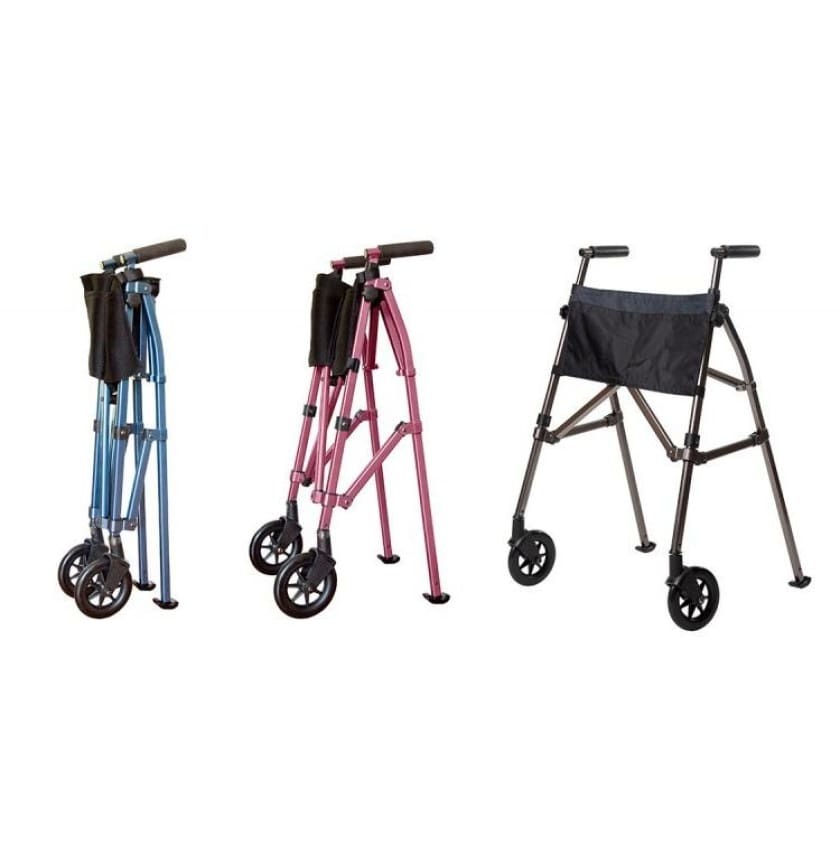 Stander EZ Fold-N-Go Walker - Make your choice here - NEW ARRIVALS