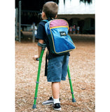 Walk Easy 572 Pediatric Forearm Crutches - COOL KIDS STUFF