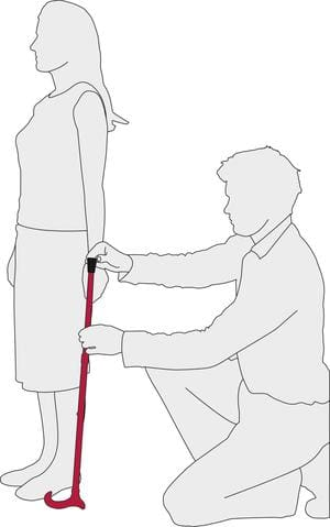 How To Size Your Adjustable Cane