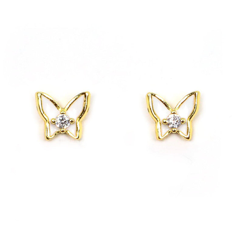 Snow White Butterfly Earrings