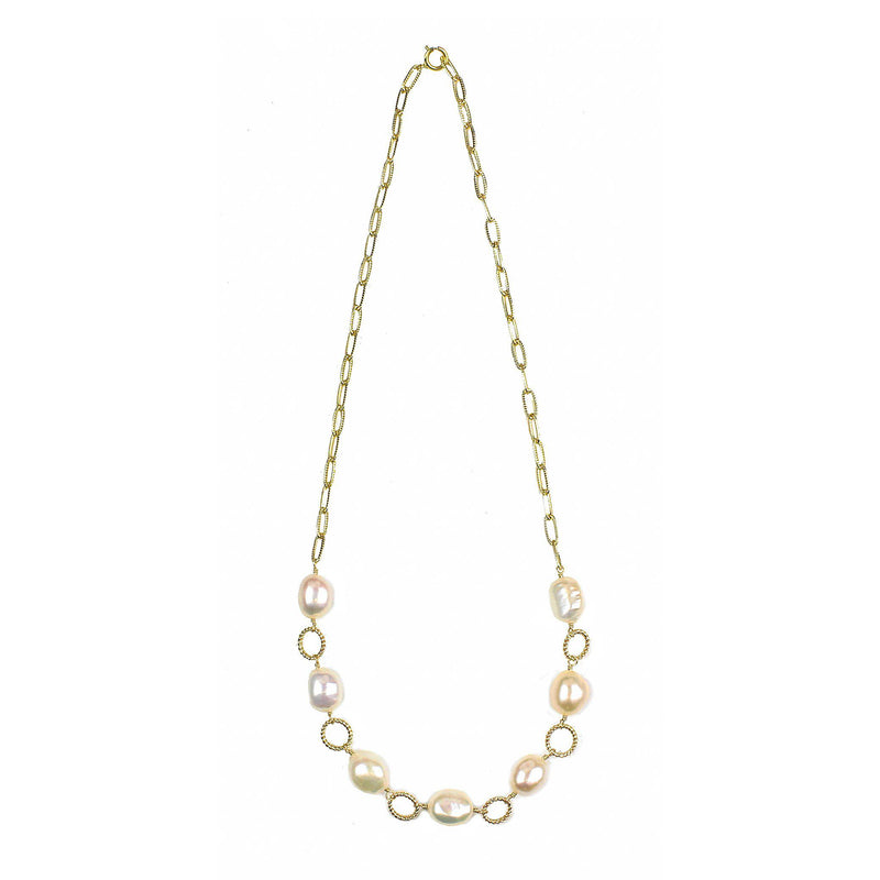 Friendliness Baroque Pearl Necklace
