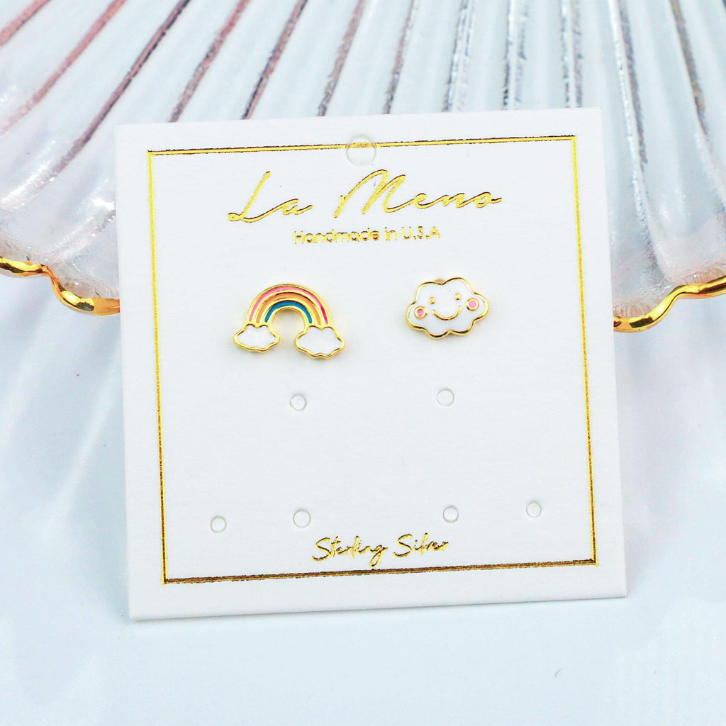 Baby Rainbow Earrings-Limited Edition-La Meno