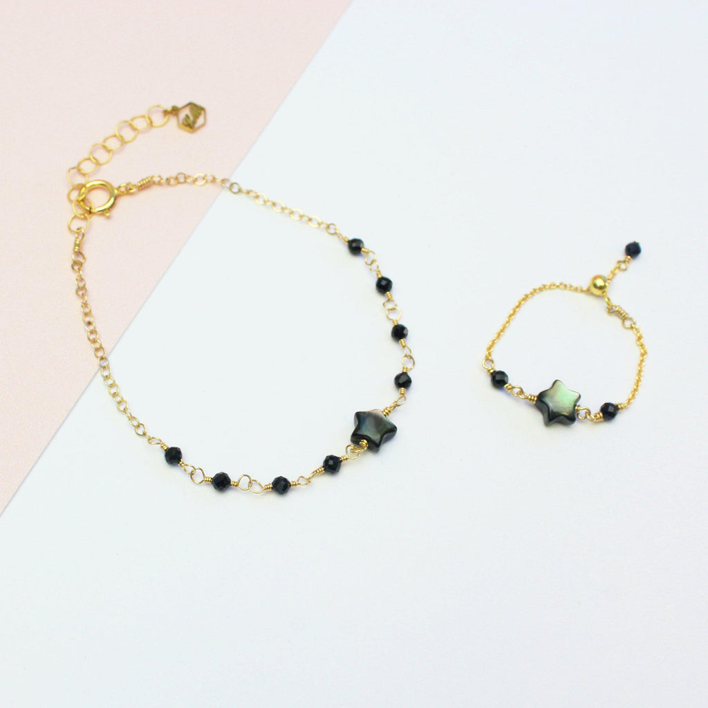 Black Star Set-Jewelry Set-La Meno