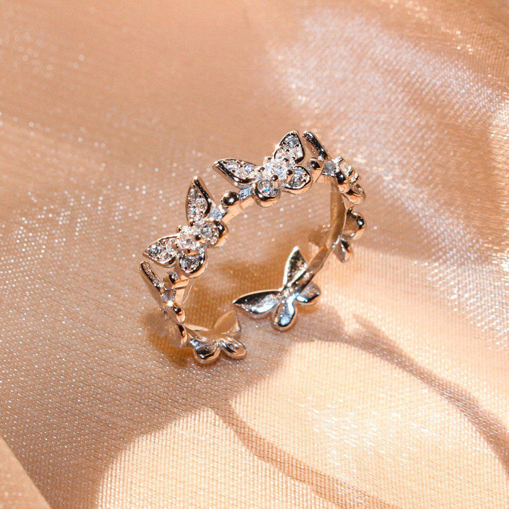 Butterfly Crown Ring-Limited Edition-La Meno