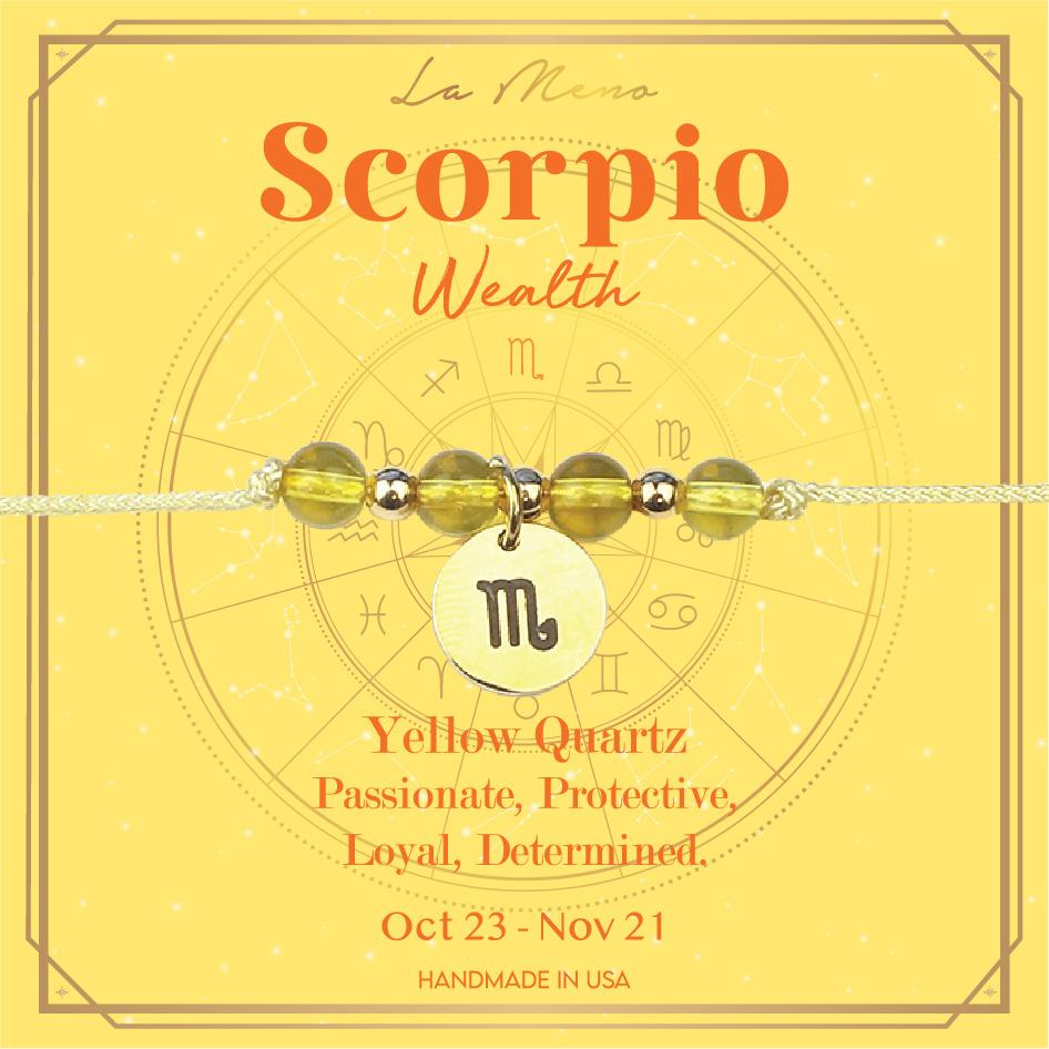 [Constellation] Scorpio Bracelet-Constellation-La Meno