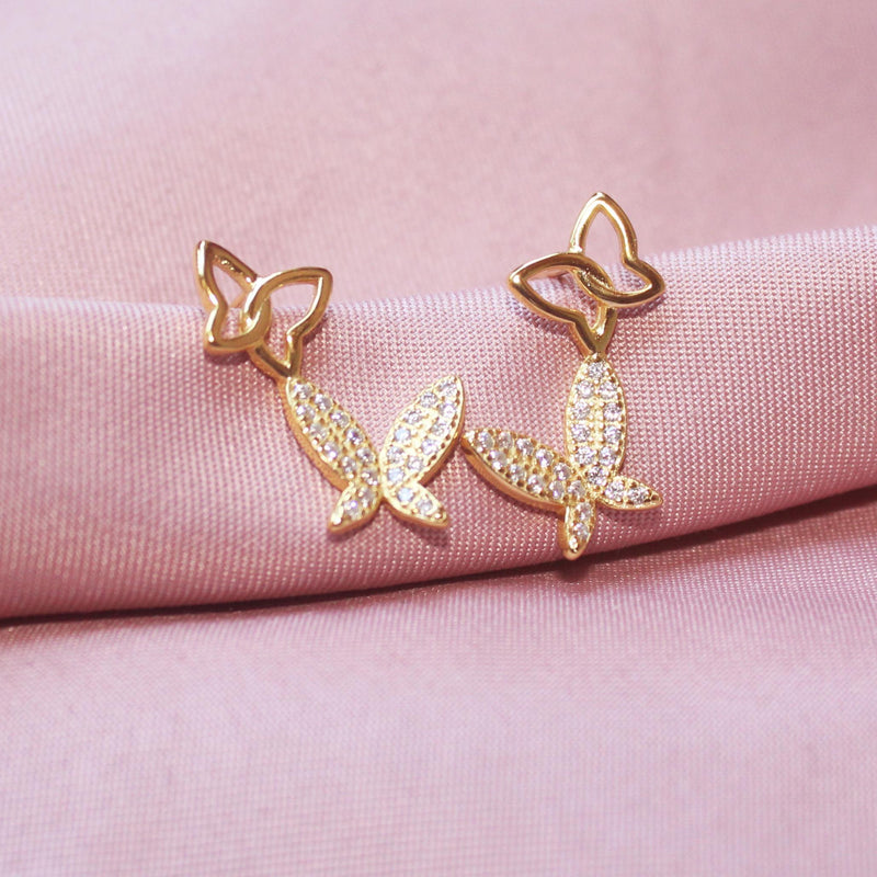 Couple Butterfly Earring-Limited Edition-La Meno