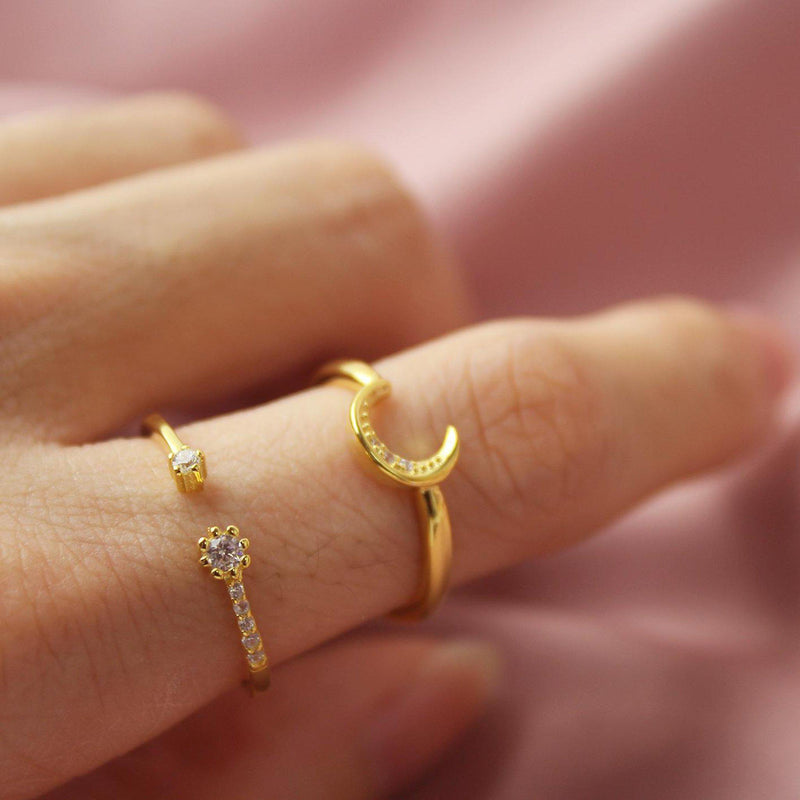 Crescent Ring-Limited Edition-La Meno
