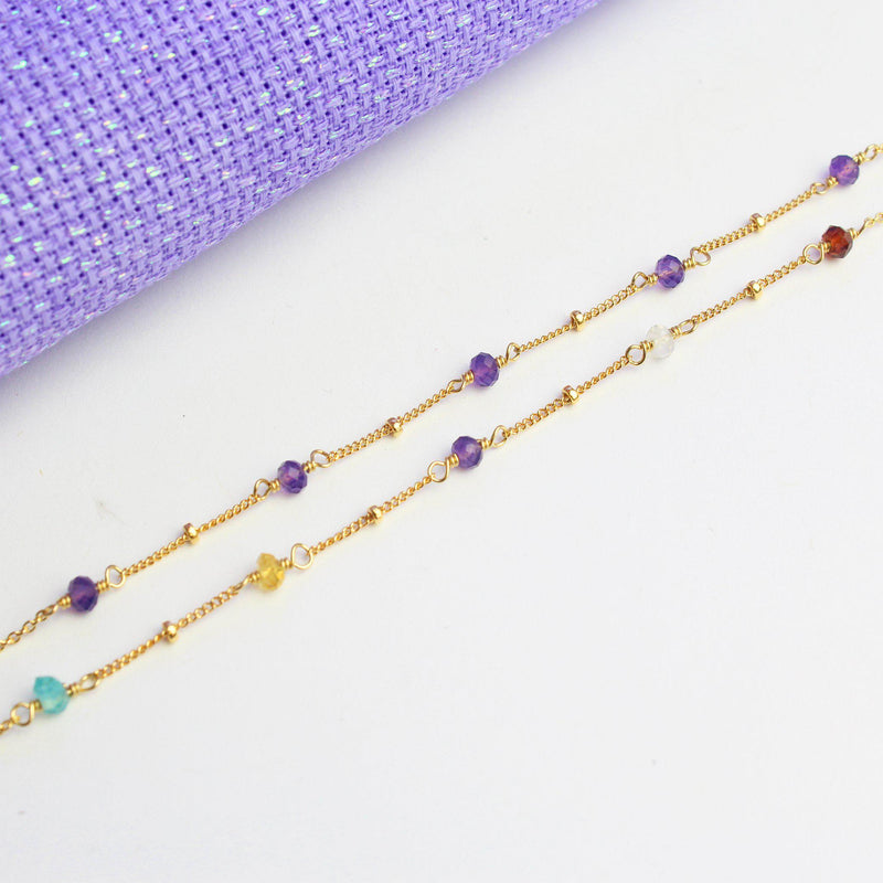 Double Anklet Set-Jewelry Set-La Meno