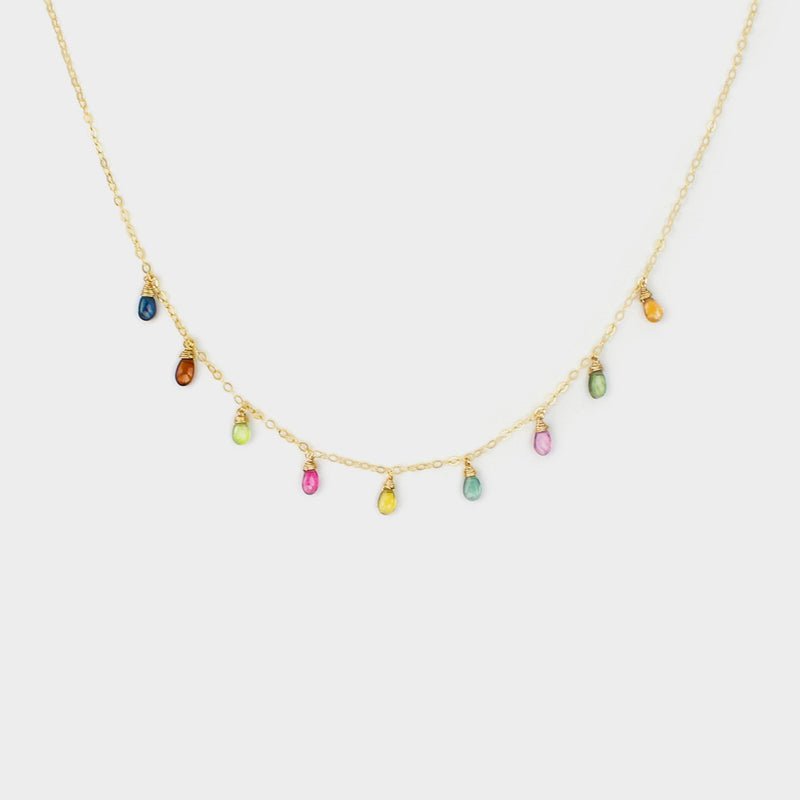 Essential Colors-Adorn Necklace-La Meno