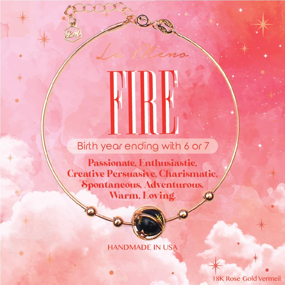 [Five Elements Bracelet] Fire-La Meno