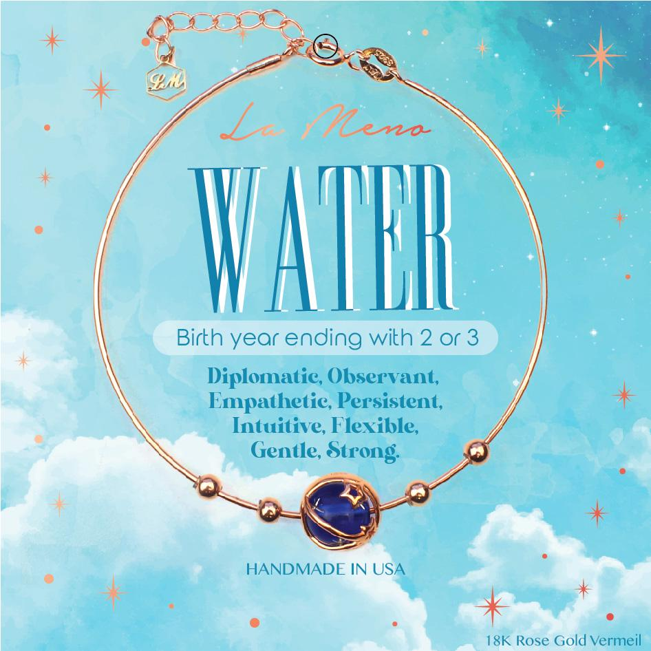 [Five Elements Bracelet] Water-La Meno
