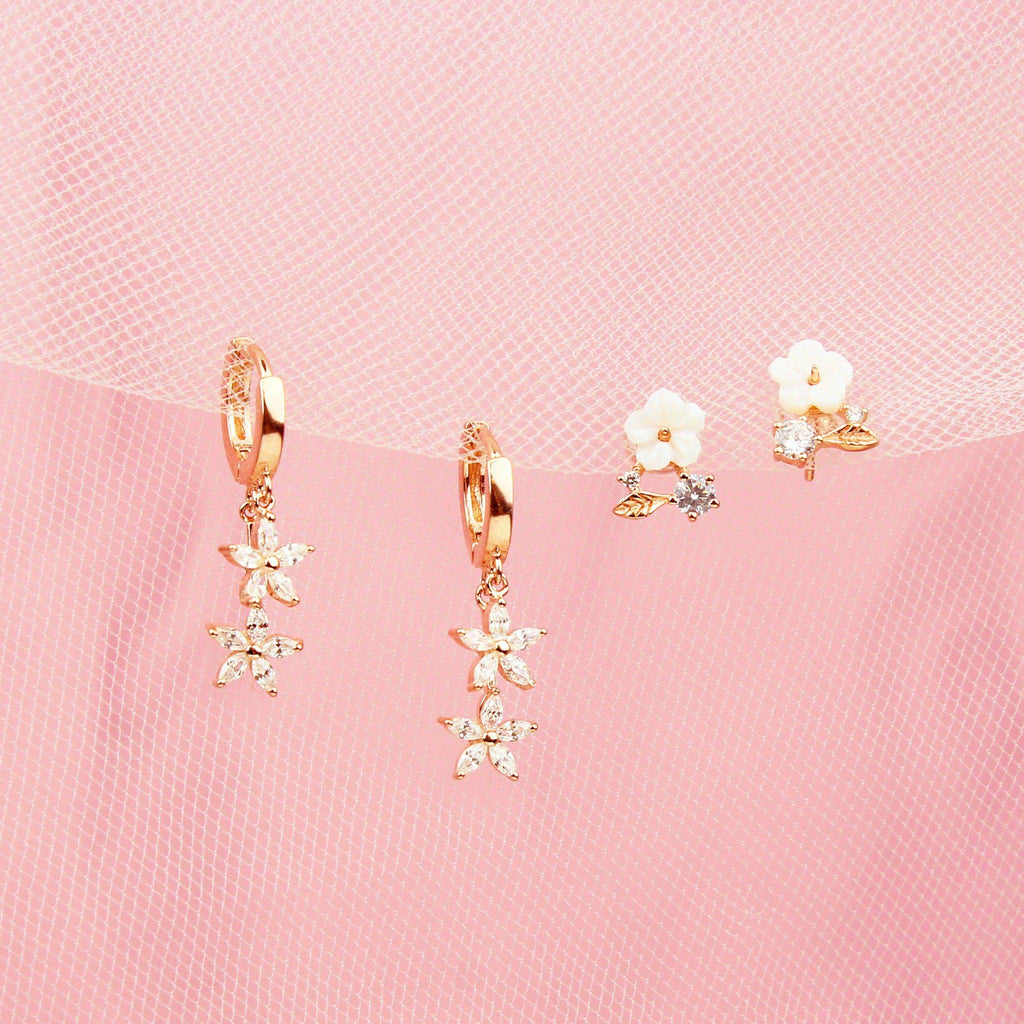 Flora Earring Set-Jewelry Set-La Meno