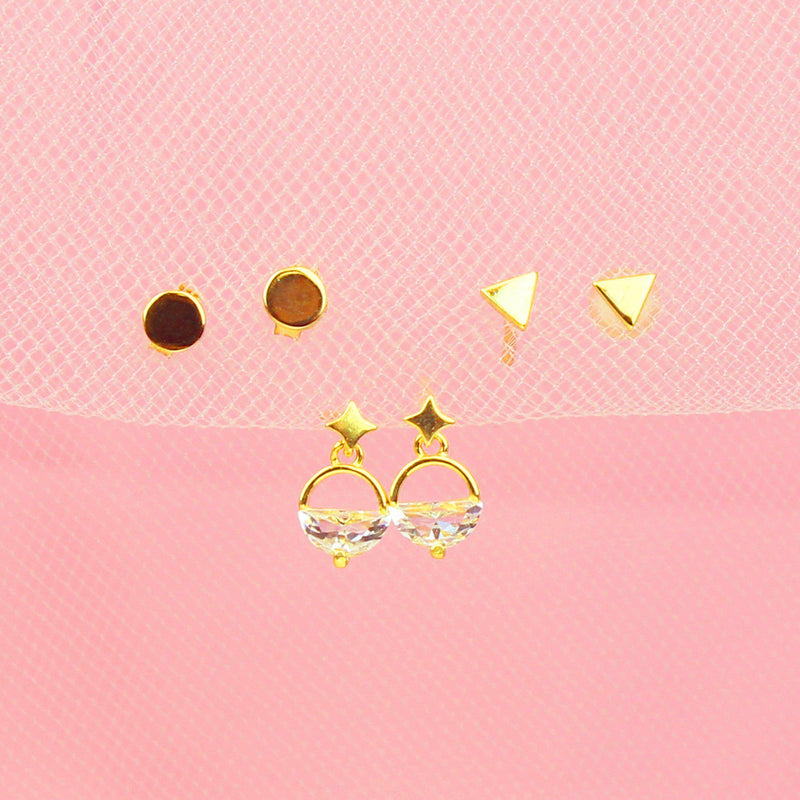 Geometry Earring Set-Jewelry Set-La Meno